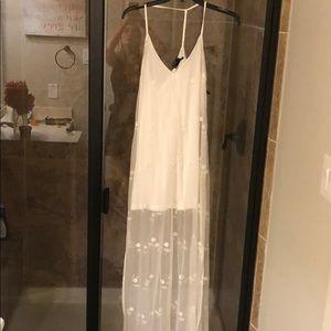 Precious lace straps dress never worn small